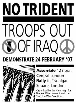 Stop the War Coalition. London Feb. 24