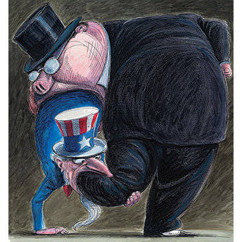 bankster and uncle sam