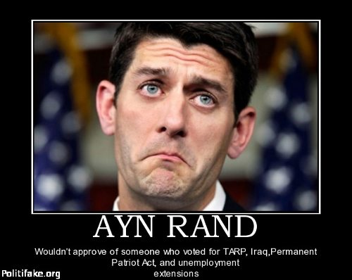 Ayn Rand And Paul Ryan Lying To The American Public