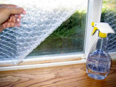 Bubble Wrap Window Insulation Is Cheap And Easy Politics