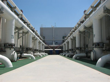 Israel desalination plant