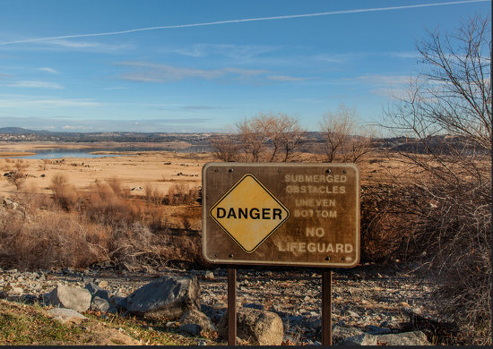 Folsom Lake, CA. Credit: Robert Couse-Baker. Flickr
