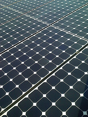 home solar panels photo