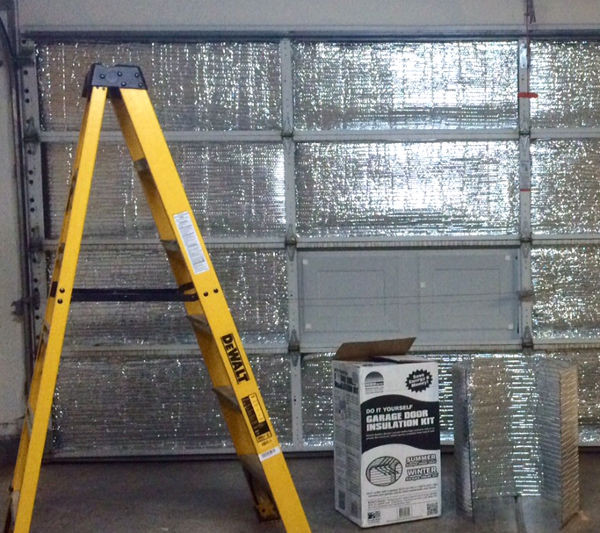 garage door insulation is super easy to install politics in the